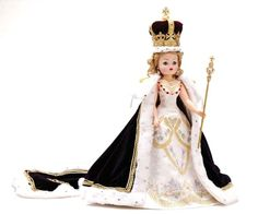 Madame Alexander coronation doll with crown