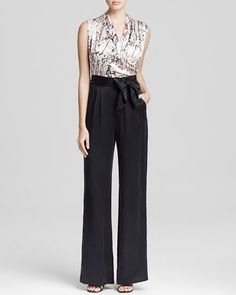 2a2a2901659e Catherine Malandrino Jumpsuit - Marion Wide Leg Women - Contemporary -  Bloomingdale s