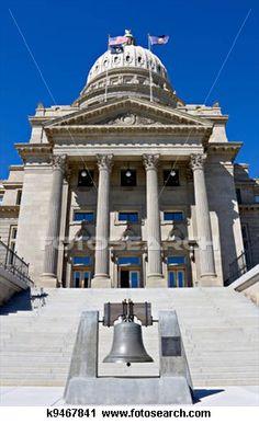 Capital building at Boise Idaho (my hometown)
