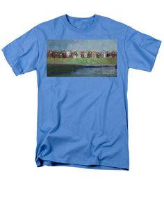 Men's T-Shirt (Regular Fit) - Abstract Landscape 1526