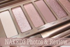Urban Decay Naked3 Palette, my number 1 thing on my Xmas list