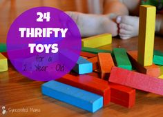 Thrifty Toys for a 2‐Year‐Old