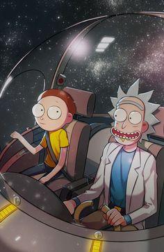 Un viaje atravesó de la galaxia :)