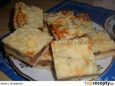 Švédský jablečný koláč s tvarohem Cornbread, Ethnic Recipes, Food, Millet Bread, Essen, Meals, Yemek, Corn Bread, Eten
