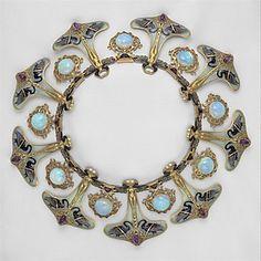 Necklace  René Jules Lalique (French, Aÿ 1860–1945 Paris)  Date: ca. 1897–99