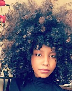 Pooffectin the Afro Natural Hair Inspiration, Natural Hair Tips, Natural Hair Styles, Black Power, Beautiful Black Hair, Big Hair Dont Care, Curly Girl, Hair Journey, Afro Hairstyles