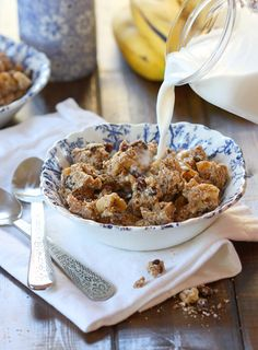 This cinnamony gluten-free granola recipe used to be on The Balanced Platter, but now that website is gone I'm hosting it on my own blog :) ♥, Kelly