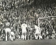 Birmingham 0 Everton 2 in Oct 1963 at St Andrews. Birmingham City attack with a corner St Andrews, Everton, Birmingham, 1960s, Dolores Park, Saints, Corner, Football, City