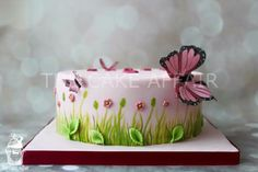 Butterfly cake by TheCakeAffair
