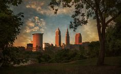 A Dramatic View Of Cleveland  by Dale Kincaid
