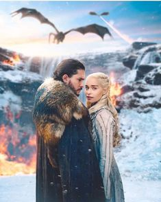 They should have stayed by the waterfall 🙄 Season Game of Thrones. Dessin Game Of Thrones, Arte Game Of Thrones, Game Of Thrones Poster, Watch Game Of Thrones, Game Of Thrones Facts, Game Of Thrones Costumes, Game Of Thrones Funny, Jon Snow And Daenerys, Game Of Throne Daenerys