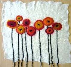 'Painting with Fibres' Workshop