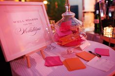 Well wishes for the bride & groom #weddings #paperie #blisschicago