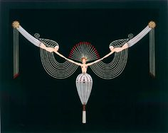 The Russian-born painter Romain de Tirtoff, who called himself Erté after the French pronunciation of his initials, was one of the foremost fashion and stage designers of the early twentieth century.