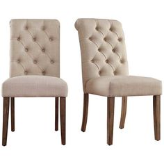 Outfit Your Seating Ensemble In Timeless Elegance With This Stylish Side  Chair. Its Frame Is