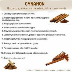 Cynamon - ciekawości Healthy Tips, Healthy Recipes, Healthy Food, Best Diet Foods, Health Remedies, Keto, Food Hacks, Food Inspiration, Health And Beauty