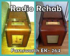 Hapeville Vintage: Radio Rehab: Farnsworth EK-264