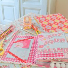 art journaling     http://allemaalkleurtjes.blogspot.com
