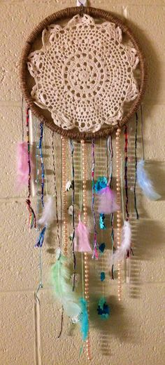 Homemade Dream Catcher By Moi Crafty Things Pinterest Magnificent Home Made Dream Catcher