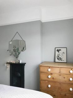 My bedroom update – Apartment Apothecary fireplace grey vintage furniture simple minimal Modern Master Bedroom, Modern Bedroom Design, Home Bedroom, Modern Victorian Bedroom, Bedroom Ideas, Bedrooms, Boys Bedroom Furniture, Shabby Chic Furniture, Furniture Ideas