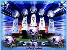 Five Times Super Bowl Winners
