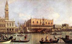 Antonio Canaletto - Palazzo Ducale