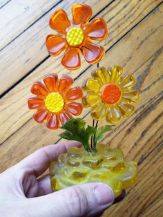 MCM EAMES Retro Wondermold Sculpture Flowers by MayberryAntiques on Etsy
