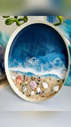 Diy Resin Projects, Diy Resin Art, Diy Resin Crafts, Diy Crafts Hacks, Diy Arts And Crafts, Art Projects, Resin Art Supplies, Epoxy Resin Wood, Sea Glass Crafts