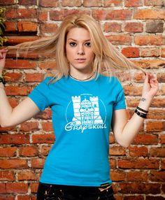 Greyskull funny women's tshirt Girlfriend gift by store365 on Etsy