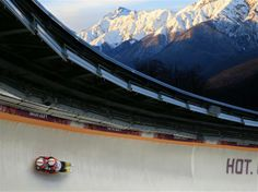 DAY 6:  Tobias Wendl and Tobias Arlt of Germany compete during the Luge Men's Doubles
