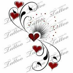 Tattoo heart broke no Vine Tattoos, Foot Tattoos, Flower Tattoos, Body Art Tattoos, Tatoos, Tattoos For Daughters, Sister Tattoos, Pretty Tattoos, Beautiful Tattoos