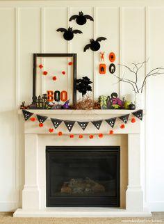 DIY Honeycomb Halloween Bats- featuring Alix Adams from @ARuffledLife