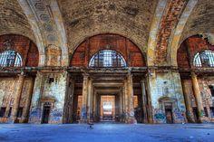 Michigan Central Station by Chris Luckhardt, via Flickr Detroit