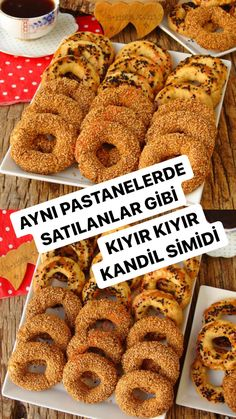 Turkish Recipes, Recipies, Food And Drink, Cookies, Baking, Breakfast, Cake, Desserts, Cereal