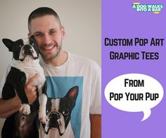 Pop Your Pup - Custom Wearable Pop Art of your Dog | A Dog Walks into a Bar - All things Dogs and Drinking