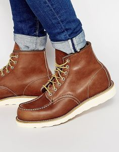 Image 1 - Red Wing - Bottines 6 pouces en cuir style mocassins