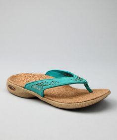 Sole - Adega Teal Casual Flip-Flop - Women