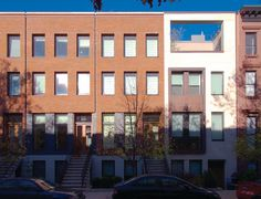 14 Townhouses in Brooklyn by Rogers Marvel Architects contemporary-exterior