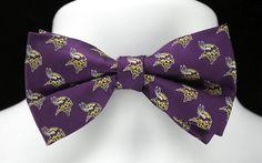 Vikings Tie Mens Minnesota Vikings Neckties Officially Licensed Neck Ties NWT