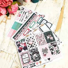 December 2017 The Planner Society Box Stickers Kit