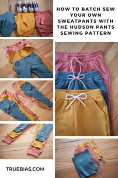 Sewing Projects For Beginners, Sewing Tutorials, Sewing Tips, Sewing Ideas, Diy Clothing, Clothing Patterns, Sewing Patterns, Sewing Pants, Sewing Clothes