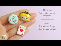 [Stop Motion] Alice in Wonderland magnets / Aimants Alice aux Pays des Merveilles - YouTube
