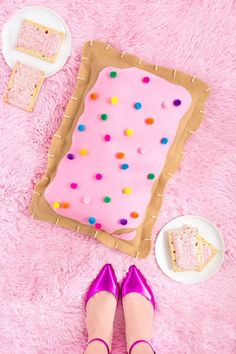 Best DIY Ideas for Teens To Make This Summer - DIY No-Sew Pop Tart Pillow - Fun and Easy Crafts, Room Decor, Toys and Craft Projects to Make And Sell - Cool Gifts for Friends, Awesome Things To Do When You Are Bored - Teenagers - Boys and Girls Love Making These Creative Projects With Step by Step Tutorials and Instructions diyprojectsfortee...