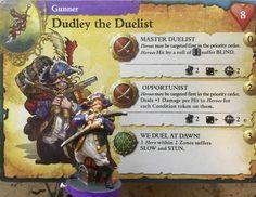 Mercenaries Gunner Dudley the Duelist (Rum and Bones) #rumandbones