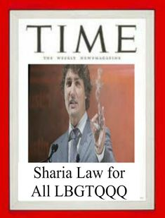 Justin Supports Sharia Law for all LBGTQ