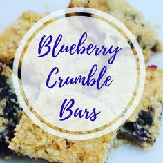 Deliciously fresh Blueberry Crumble Bars with a buttery brown sugar crust