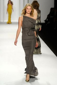 J.Mendel - Fall 2012 - Gray is SO my color.