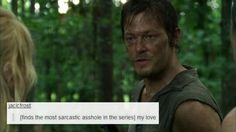 The Walking Dead + Text Posts ft. Daryl