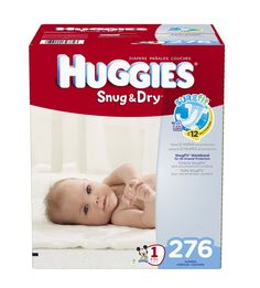 *HOT* Huggies Snug and Dry Diapers as low as $0.08/diaper Shipped!