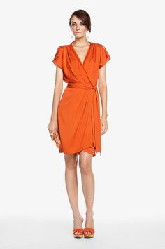DVF Mateo Wrap Dress